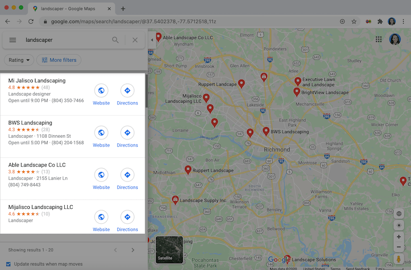 10 maneiras de se classificar mais alto no Google Maps